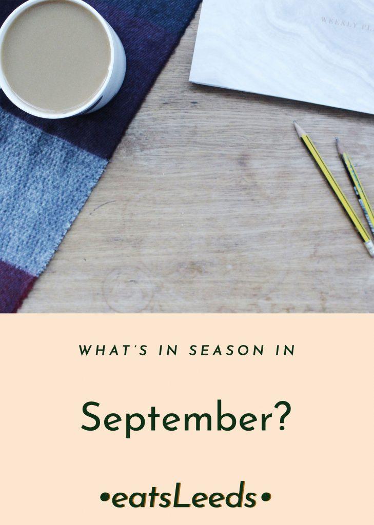 What's in season in the UK in September?