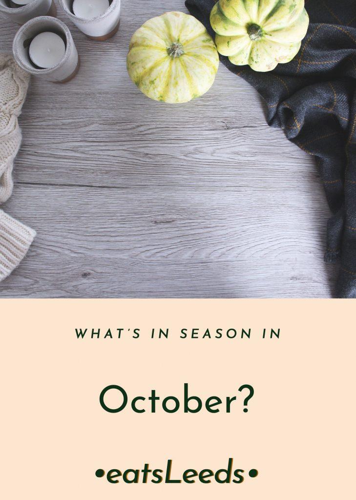 What's in Season in October in the UK?