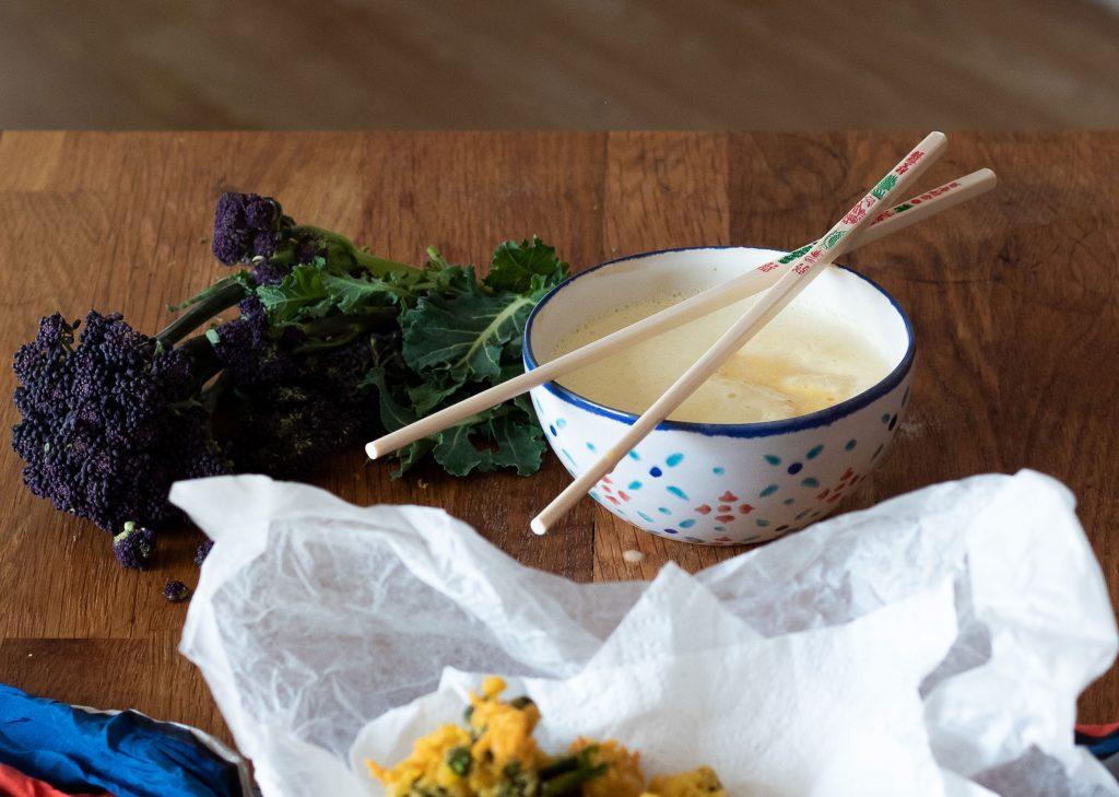 Vegan tempura batter recipe